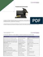 Preseleccion ponencias Congreso Virtual Mundial de e-Learning