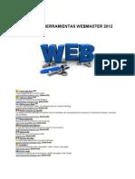 Internet Herramientas WebMaster 2012