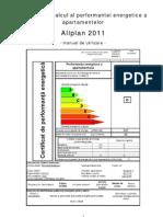 Tutorial Certificat Energetic 2011-Apartament