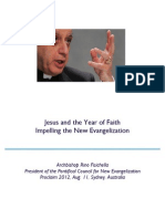 Jesus and the Year of Faith Impelling the New Evangelization