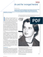 Rosalind Franklin_ The double helix and the 'wronged heroine'.