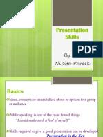 Presentatn Skills t&d