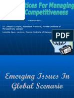Best Practices for Managing Competitiveness