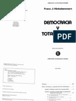 Hinkelammert_ Democracia y Totalitarismo