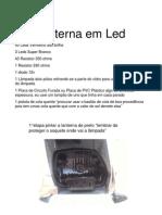 Lanterna Em Led Para TW