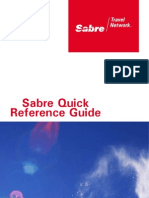 Sabre - Quick Reference