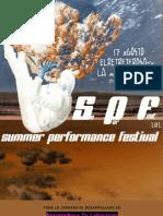 Programa Summer Performance Festival