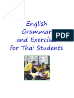 English Grammar & Exercises for Thai Students - 276p