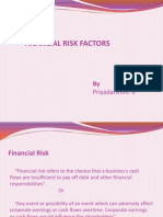 Financial Risk Ppt
