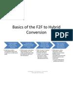 Basics of the F2F to Hybrid Conversion