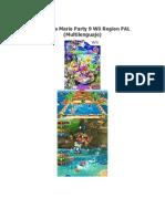 Mario Party 9 Wii Region PAL Multilenguaje