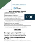 OpenOffice La Suite Libre y Gratuita Para La Oficina