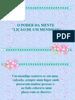 LIÇÃO DE UM MENDIGO!