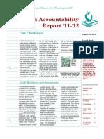 Parish Accountability Report 11-12