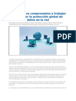 Proteccion Global de Datos Entre EEUU y UE 2012