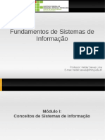 Conceitos de Sistemas de Informação