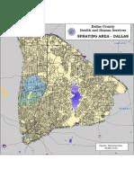 Aerial Spray Map for Thursday Night
