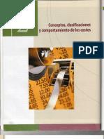 Conceptos Clasificaciones y Comportamiento de Los Costos