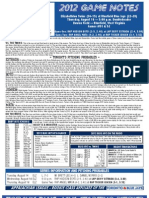 Bluefield Blue Jays Game Notes 8-16