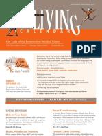 OLR Living Calendar Sept Dec 2012