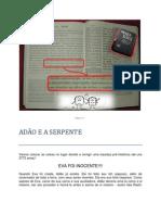 Gênesis 3 ADAO E A SERPENTE