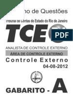 TCE Prova 2012