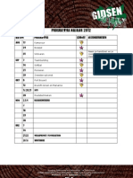 programma najaar 2012