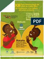 FILCR 2012 - Programa de Actividades