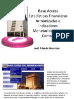 Manual Base Access Estadisticas Armonizadas
