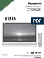 Panasonic TV Manual