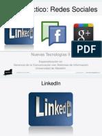 Taller Practico Redes Sociales NT2 #GCcSI