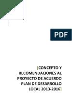 Concepto Final PDL CANDELARIA