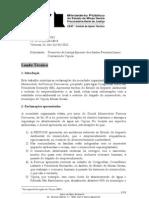 Perícia Mineroduto Ferrous - MPMG