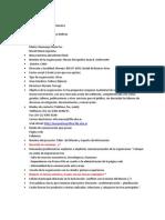 guía de registro de la intervanción