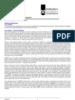 SPSD Case Studies