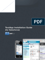 ToutApp Installation Guide for Salesforce