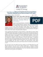 Press_Release_FIN_NIH Funds UA College of Nursing Research