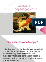 Diapositiva Asistente Psicopedagogico