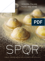 SPQR by Shelley Lindgren and Matthew Accarrino - Recipes and Excerpt