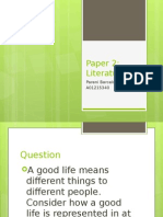 Paper 2 Literature