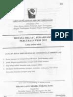 Trial 2012 Treng Bm Pemahaman