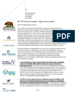 Letter of Opposition to A.B. 5 from 10 Advocacy Groups
