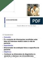 ANAMNESE- Unid 3