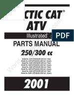 ARCTIC CAT 250 4x4 - 2001