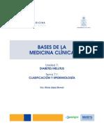 71 Diabetes Clasificacion Epidemiologia