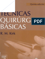 Tecnicas Quirurgicas Basicas Kirk 5 by Kalu