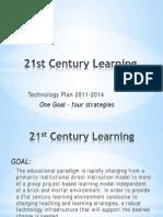 21 Century Learning Tech Plan