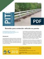 Boletin Pitra Vol 3 N° 26 Barandas para contención vehicular en puentes