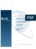 SQF-Code | Sanitation | Hazard Analysis And Critical Control