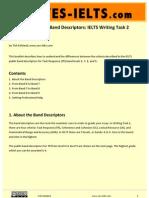 YES-IELTS - Decoding the IELTS Band Descriptors - Writing Task 2 - Task Response - Bands 6, 7, 8, 9